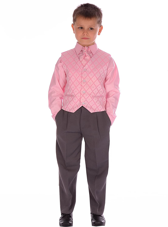 Los muchachos de gris y rosa de vestidos de novia muchacho de la ...