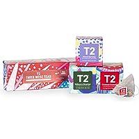 "T2 Tea T2 Tea - Christmas Tea Sampler """"Three Wise TEAS"""", 3 x Teabag Mini Cubes with 8 teabags (60g), 3 Pieces"