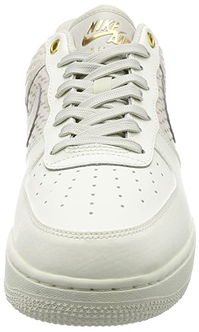 size 40 152af b7553 Amazon.com   Nike Air Force 1 07 LV8 Men s Shoes Sail Light Bone Metallic  Gold 823511-100   Basketball