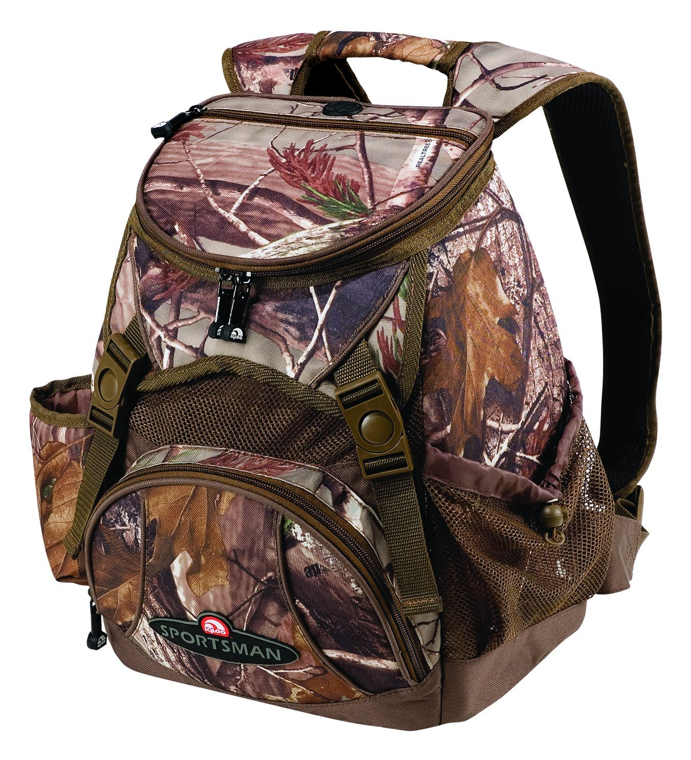 Amazon.com : Igloo Real Tree Softside Hunting Cooler Backpack ...