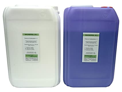 wagnersil 25 L Premium silicona caucho dublier silicona, 12 kg (2 x 6 kg
