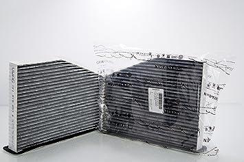 Volkswagen - Filtro de habitáculo antipolen, carbón Activo, para Golf 576, Passat 3C