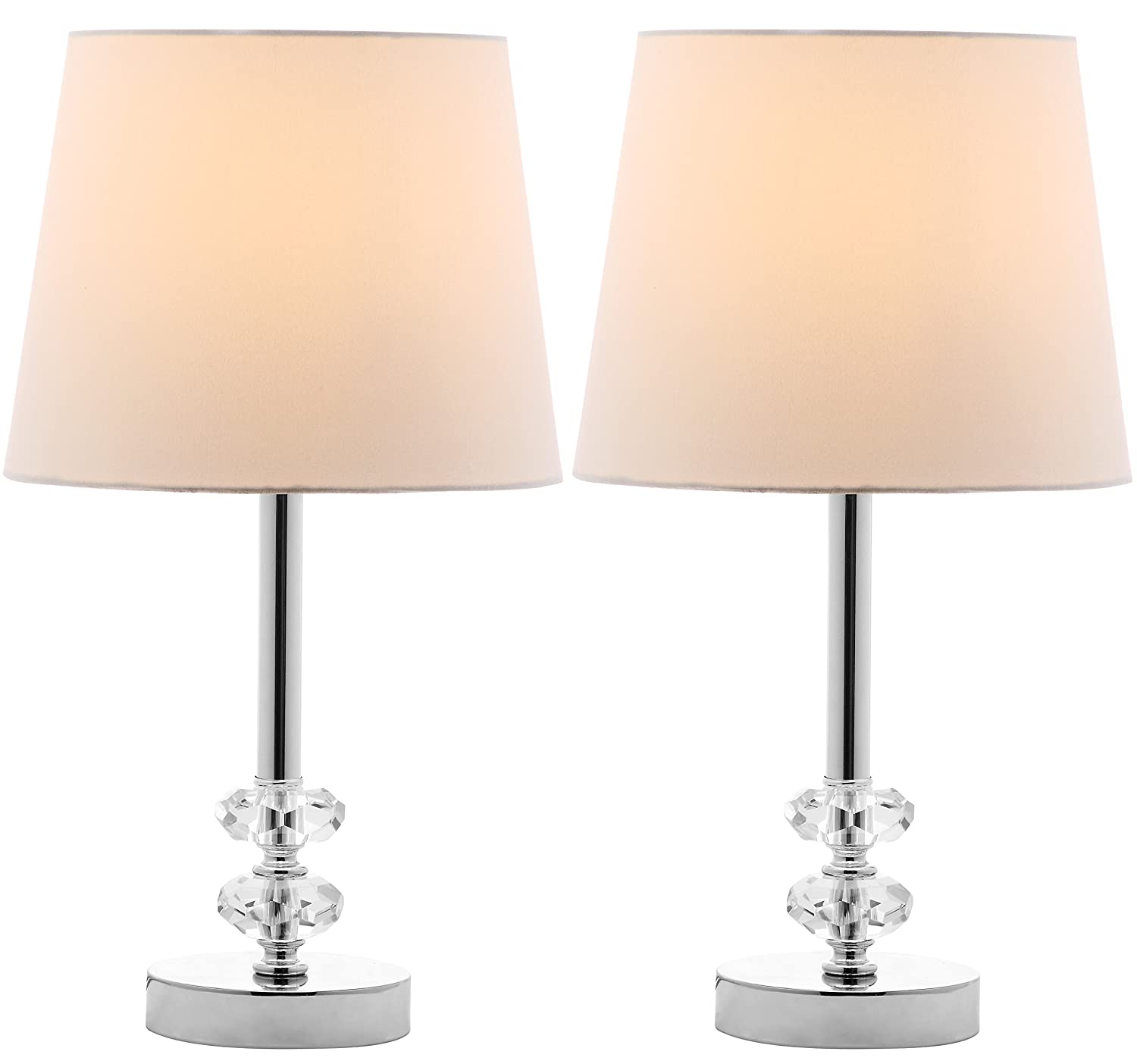 Amazon Com Safavieh Lighting Collection Ashford Clear And White