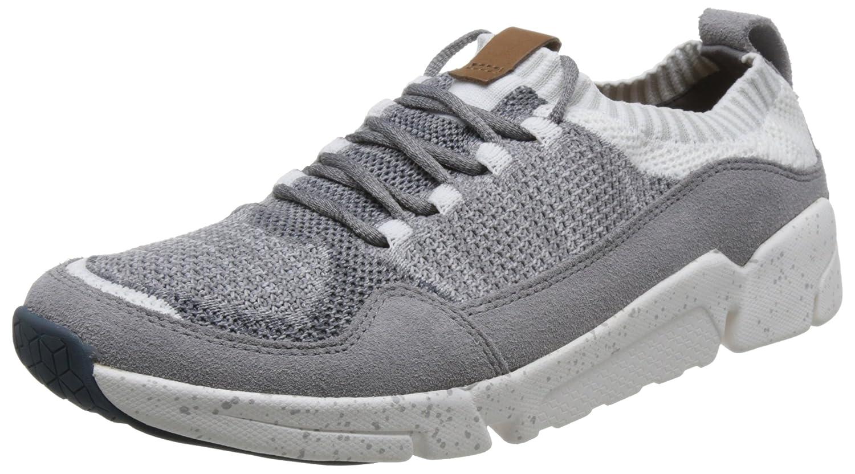Clarks Triactive Knit, Zapatillas Hombre 39.5 EU|Gris (Grey)