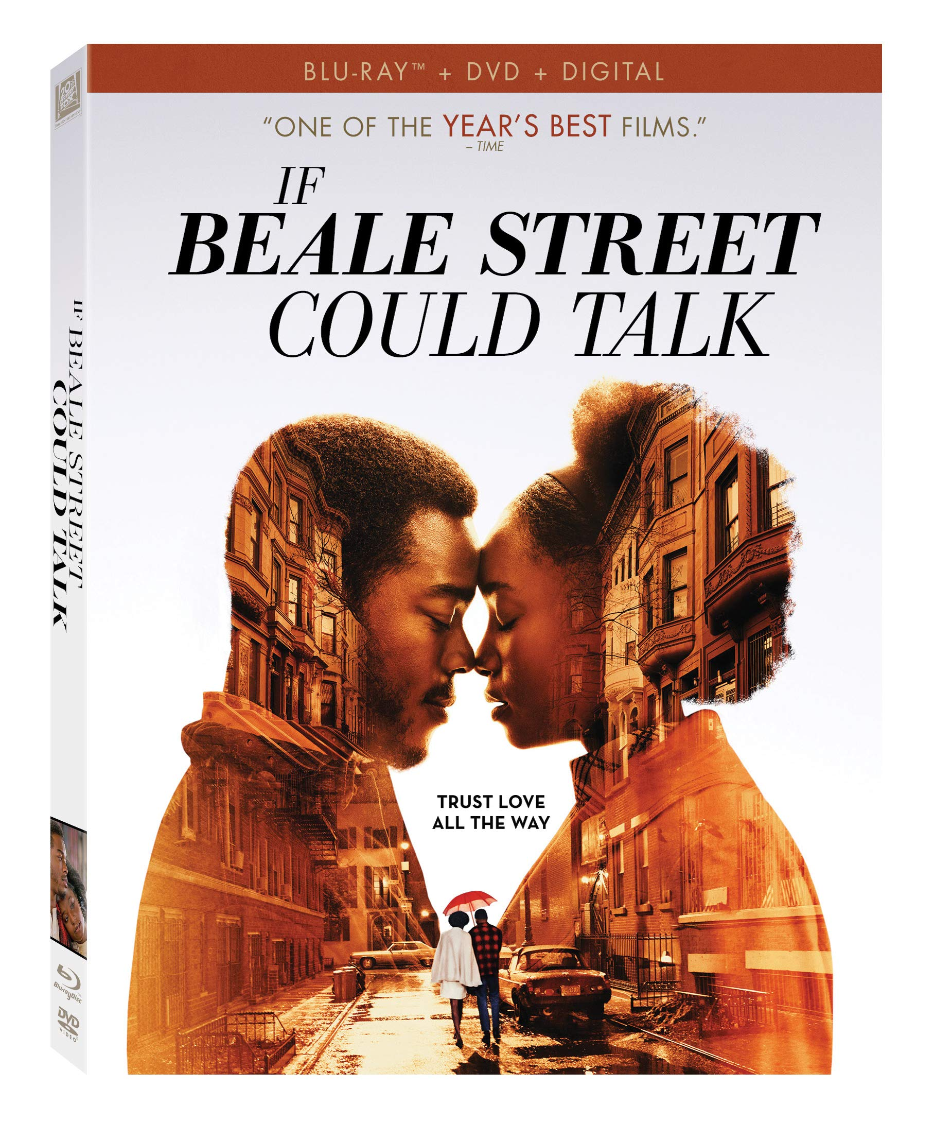 Blu-ray : If Beale Street Could Talk (With DVD, Digitally Mastered in HD, 2 Pack)