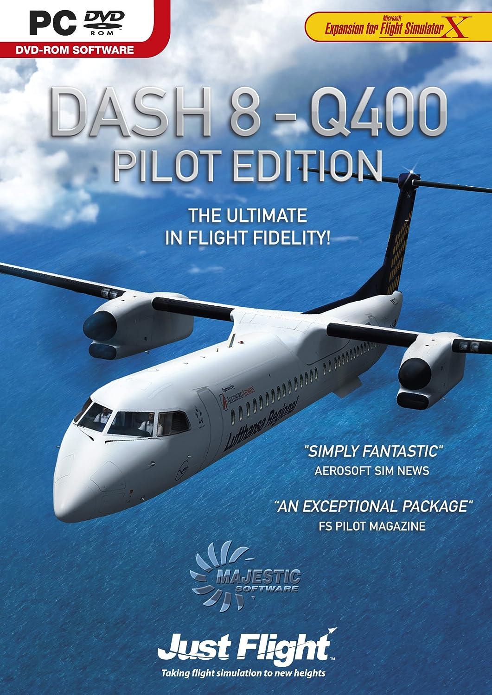 Amazon.com: Dash 8 - Q400 Pilot Edition: Expansion for Flight Simulator X -  PC: Video Games