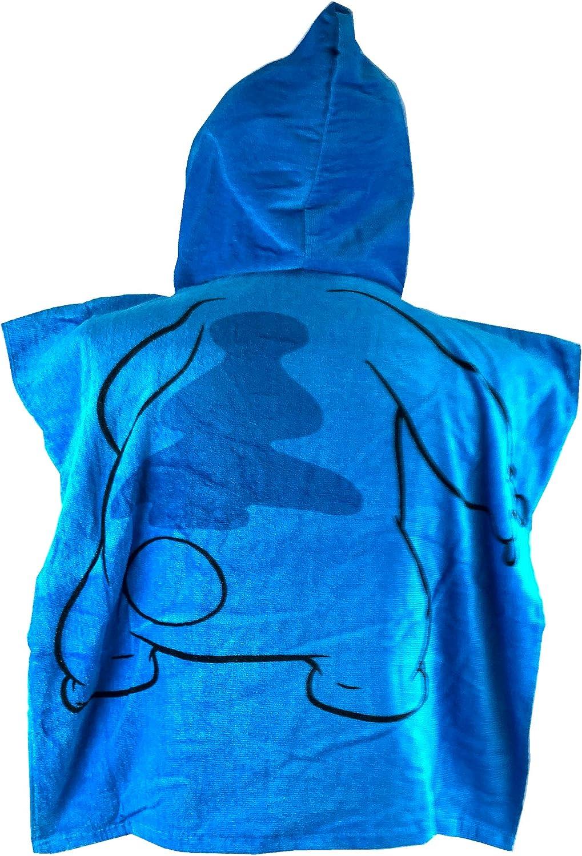 Disney Lilo Stitch Youth Hooded Towel Blue Purple 44W x 24L Kids
