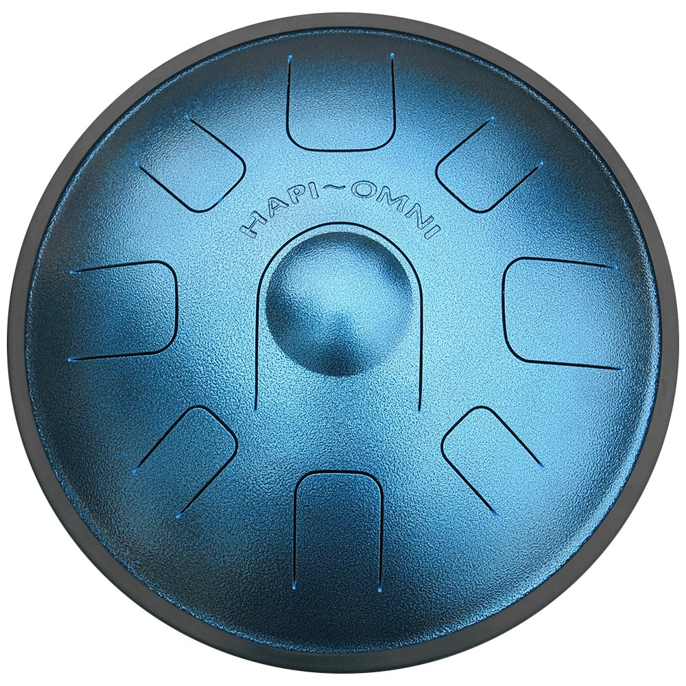 HAPI HDOMNIGMJ Omni Steel Tongue Percussion Drum - G Major with travel backpack