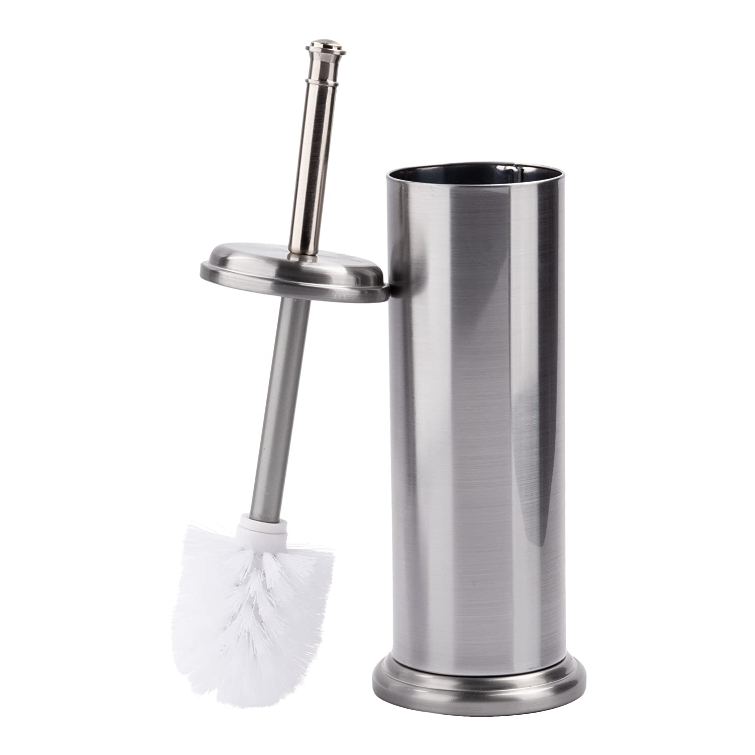 LDR 164 M6459BN Toilet Brush with Canister Brushed Nickel Finish LDR Industries SYNCHKG112282