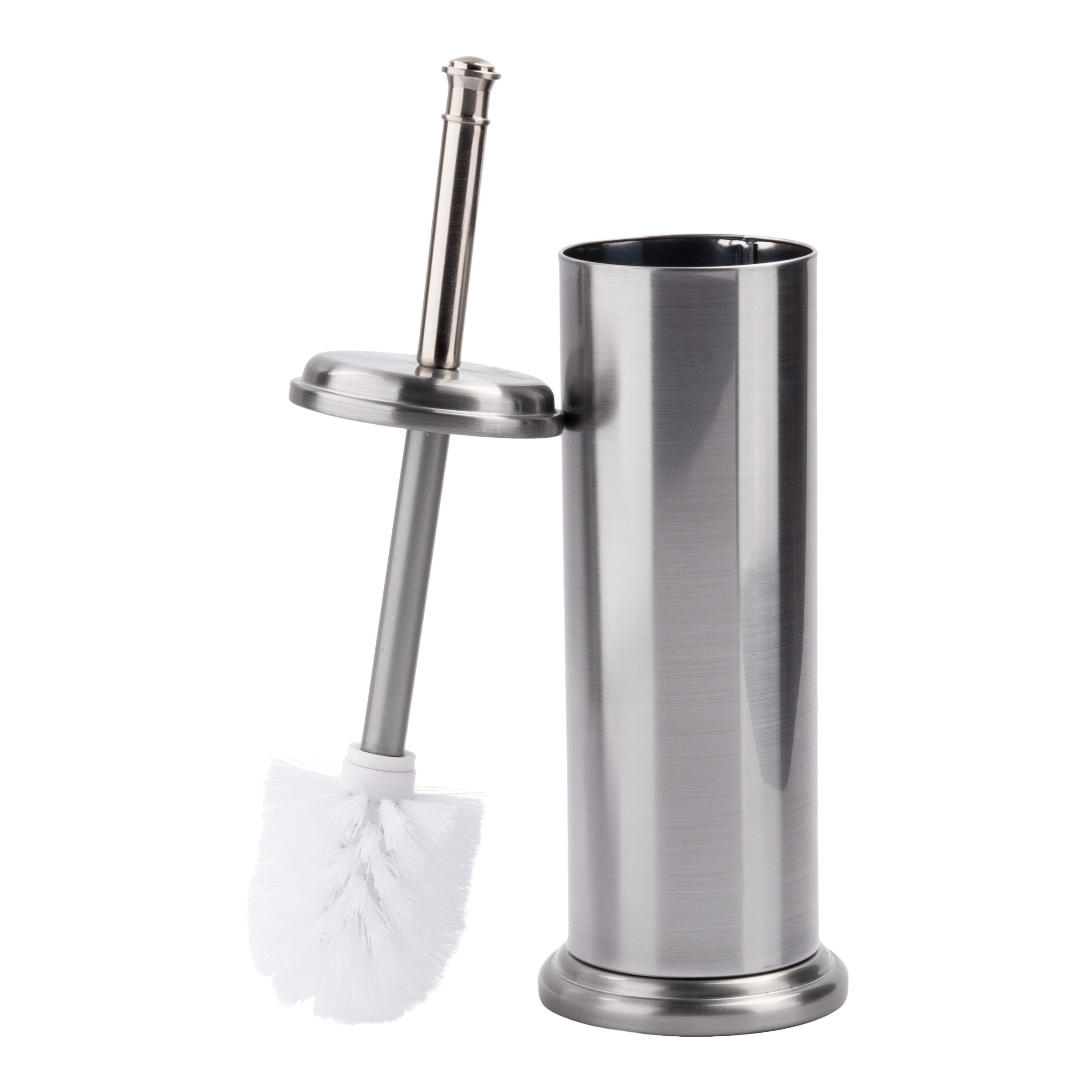 LDR 164 M6459BN Toilet Brush with Canister Brushed Nickel Finish by LDR Industries