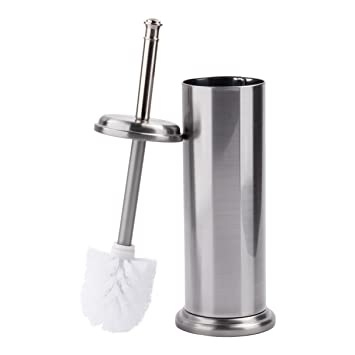 amazon co jp brushed nickel ldr 164 m6459bn toilet brush with