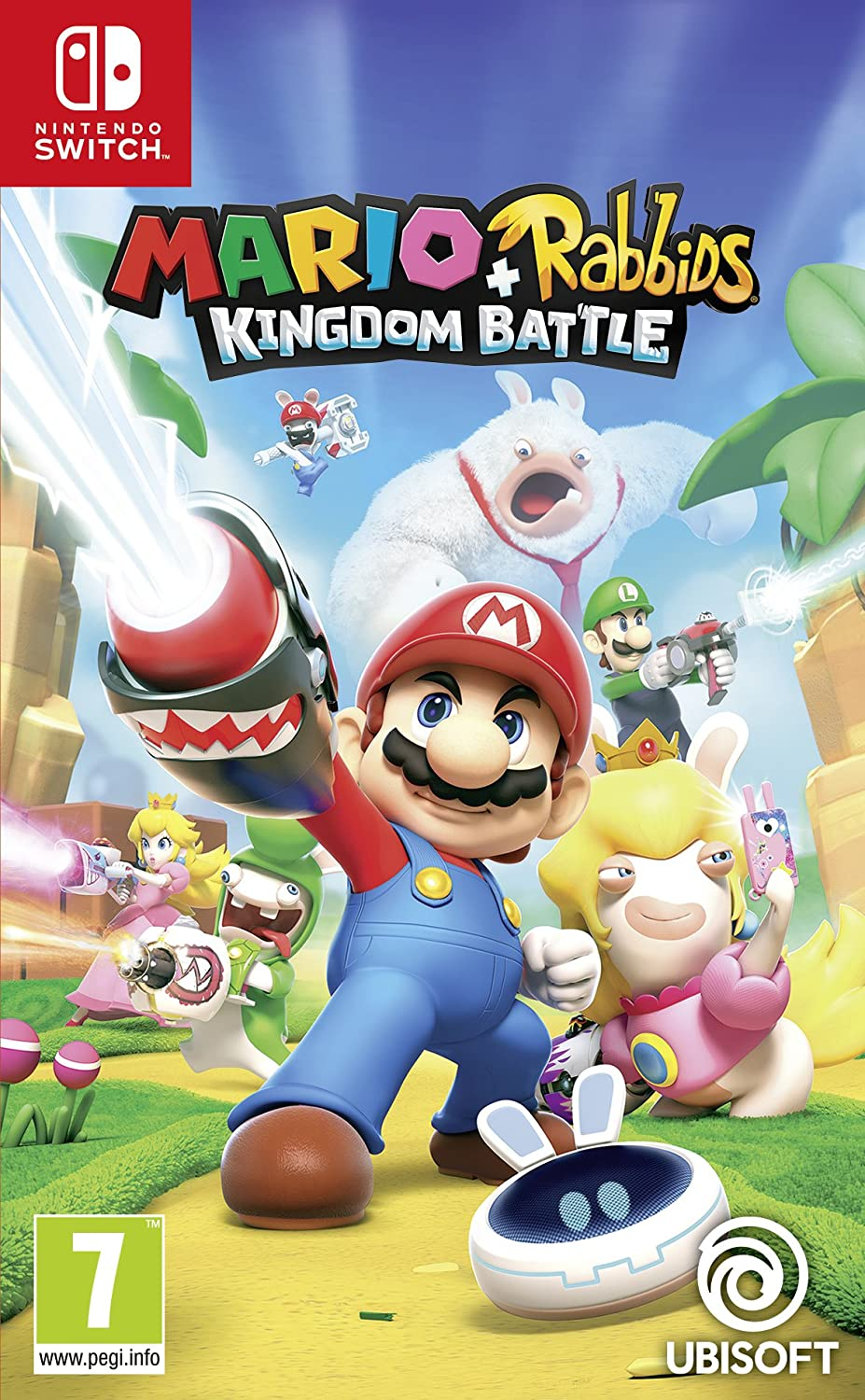 Mario + Rabbids Kingdom Battle - Nintendo Switch [Importación inglesa]: Amazon.es: Videojuegos