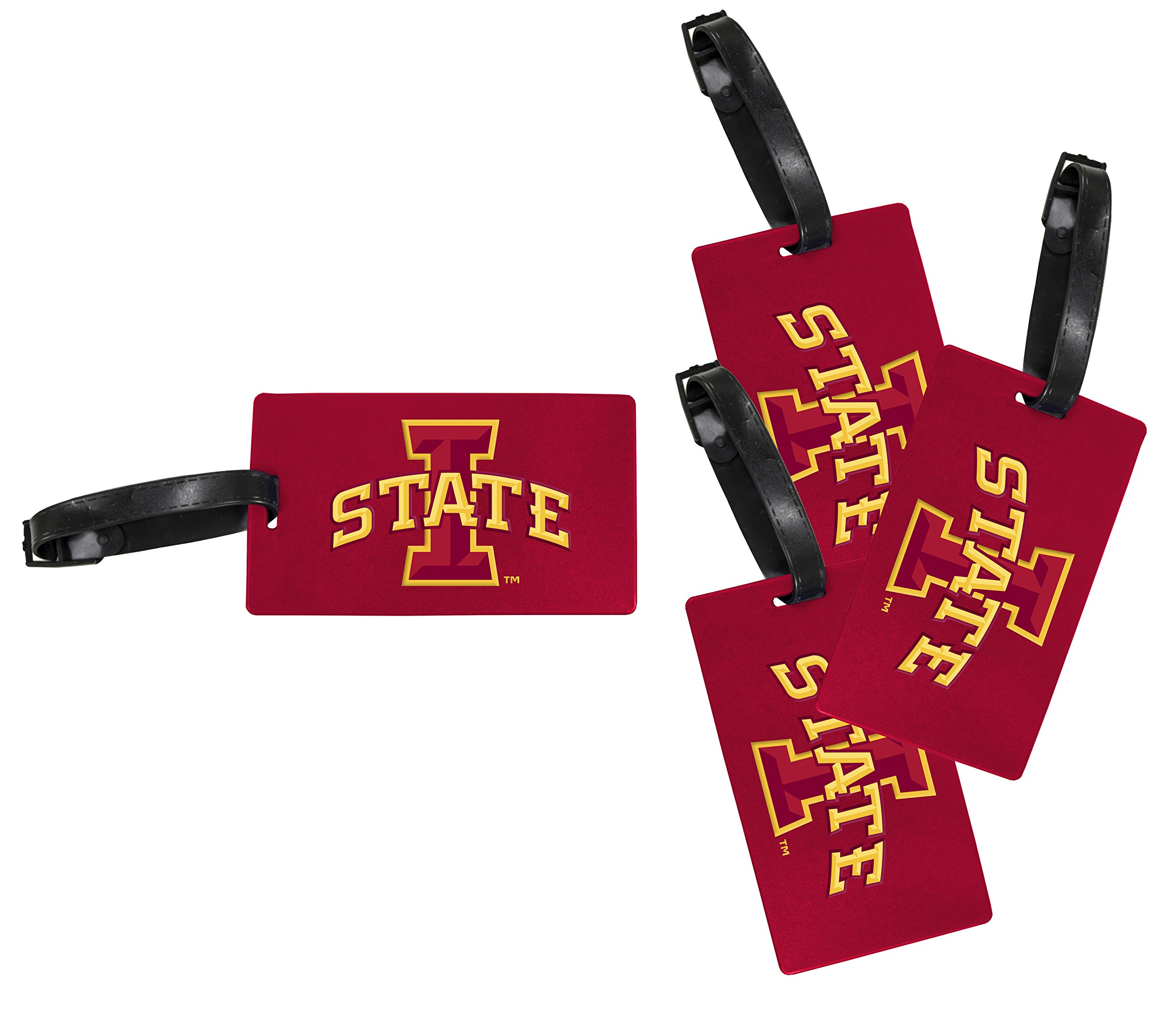 Iowa State Cyclones Luggage Tag 4-Pack