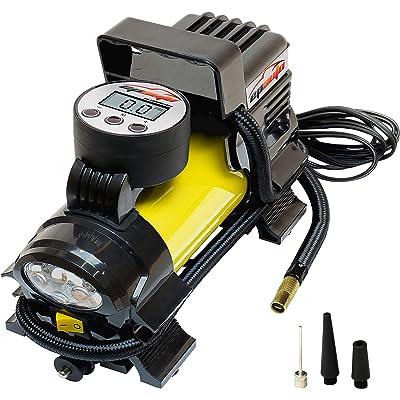 EPAUTO 12V DC Portable Air Compressor Pump, Digital Tire Inflator: Automotive