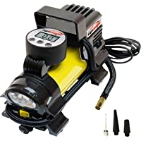 $33 » EPAuto 12V DC Portable Air Compressor Pump, Digital Tire Inflator