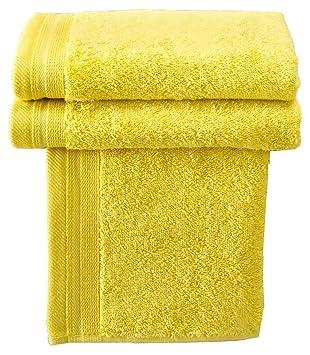 De Witte Lietaer Contessa Luxe - Lote de 3 Toallas de baño, algodón, 50 x 100 cm, 100% algodón, Intenso, 40 x 60 cm: Amazon.es: Hogar