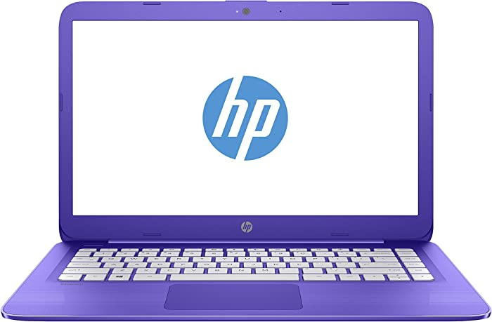 "HP 14-ax020wm Stream Notebook 14"" N3060 1.6 Ghz 4GB RAM 32gb eMmc Win10-Purple"