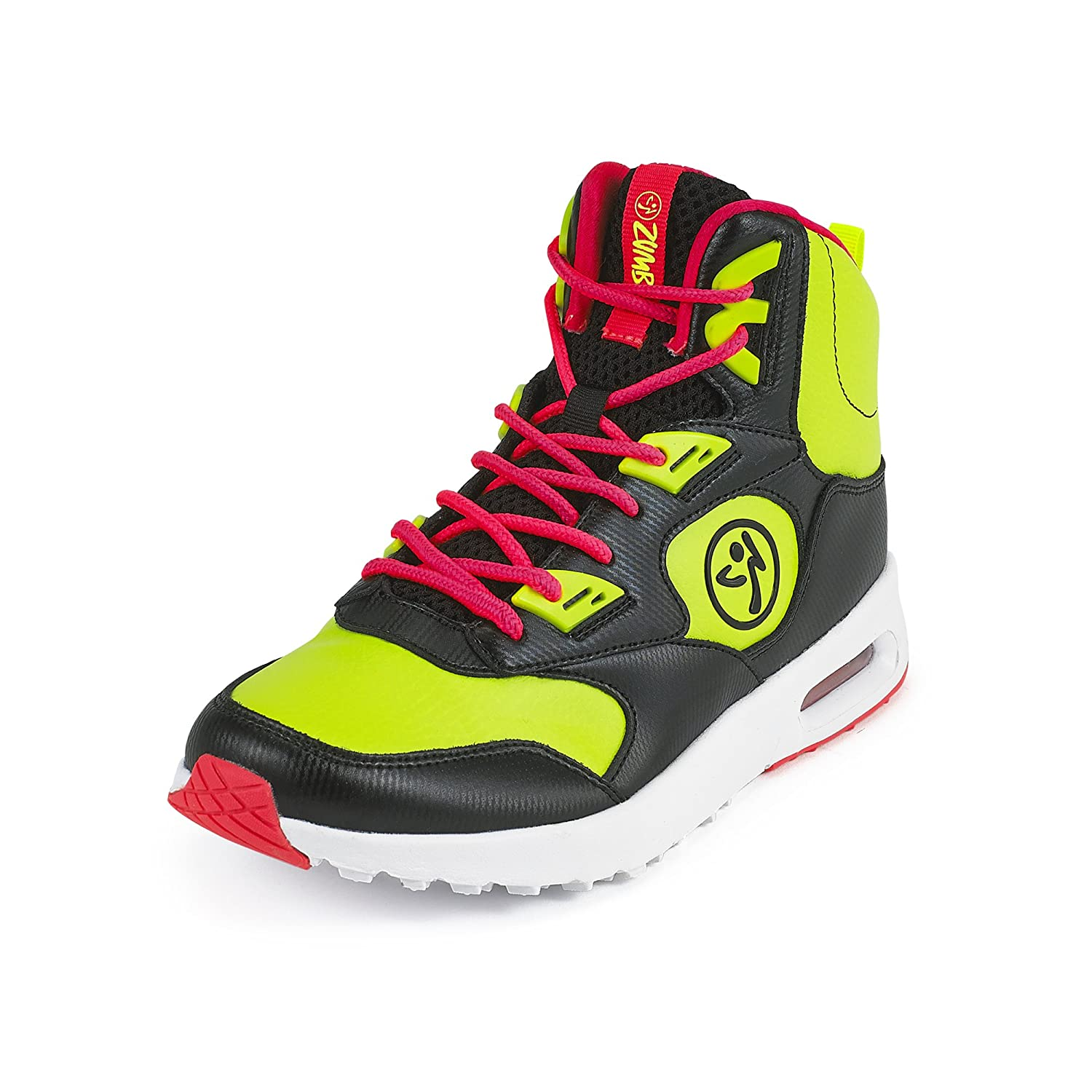 Zumba Women's Air Classic Athletic Dance Workout Shoes with Max Impact Protection Sneaker