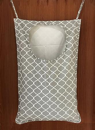 wakaka tela para colgar sobre grande plegable para ropa sucia cesta de yute de cubo cilíndrico bolsa de lona ropa de baño/toalla de baño recopilar/Kids Toy ...