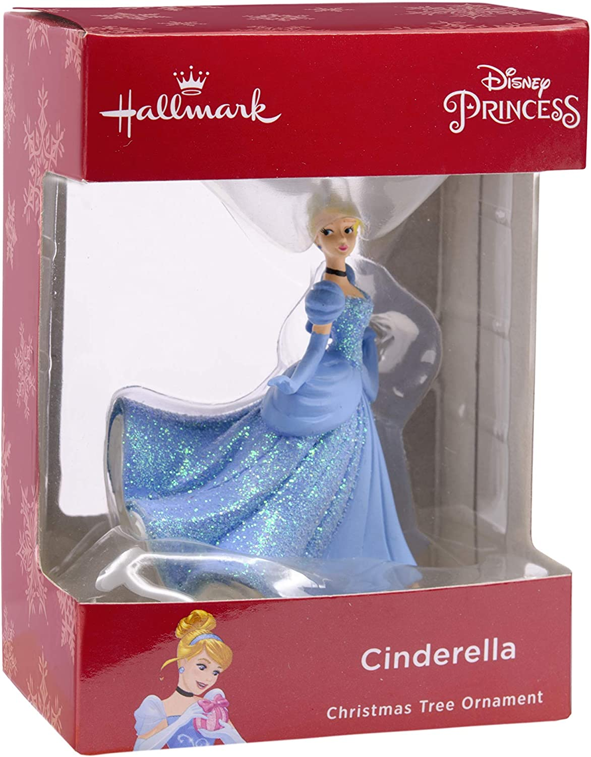 """Details about  /Cinderella 2/"""" Resin Christmas Collection Ornament Disney Parks"""