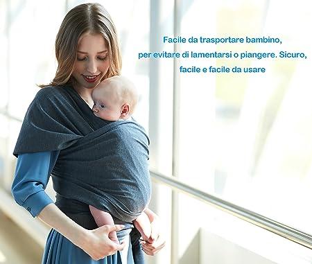 Écharpe de Portage Bébé Sling Été Tissu de coton complet bébé de haute  qualité pour nouveau-nés et bébés ... 95c26732f43