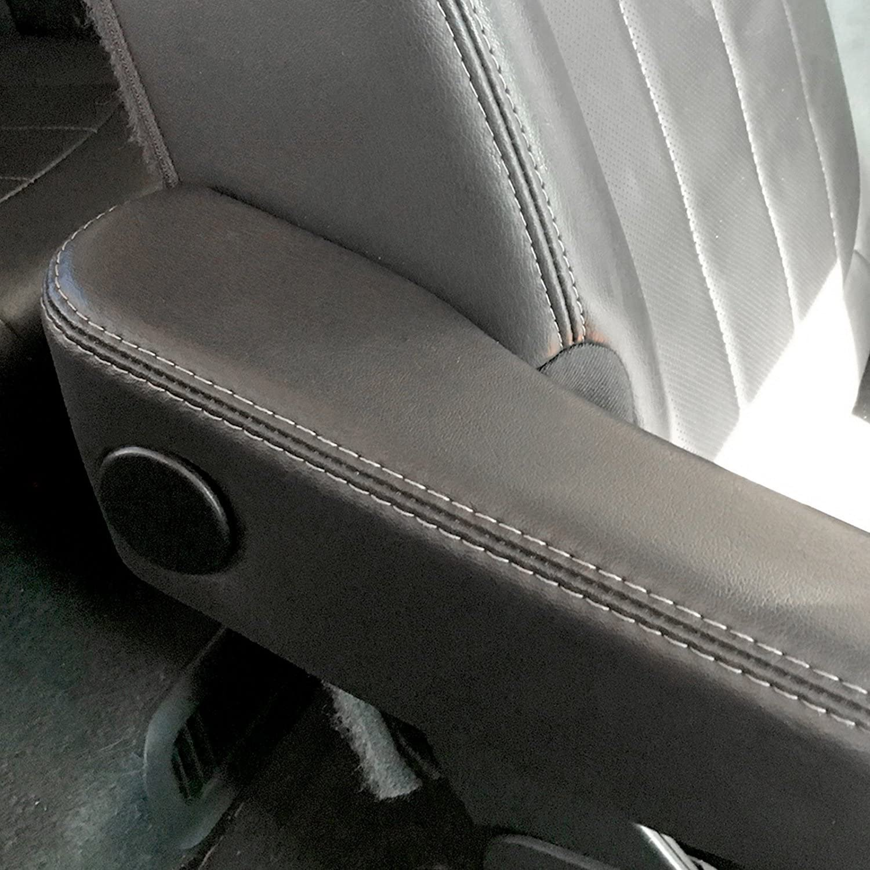 SP-Auto Grey Rear Armrest Arm Rest Trim Bolt Cover Cap Replace For Chevrolet GMC General Style 2007-2014