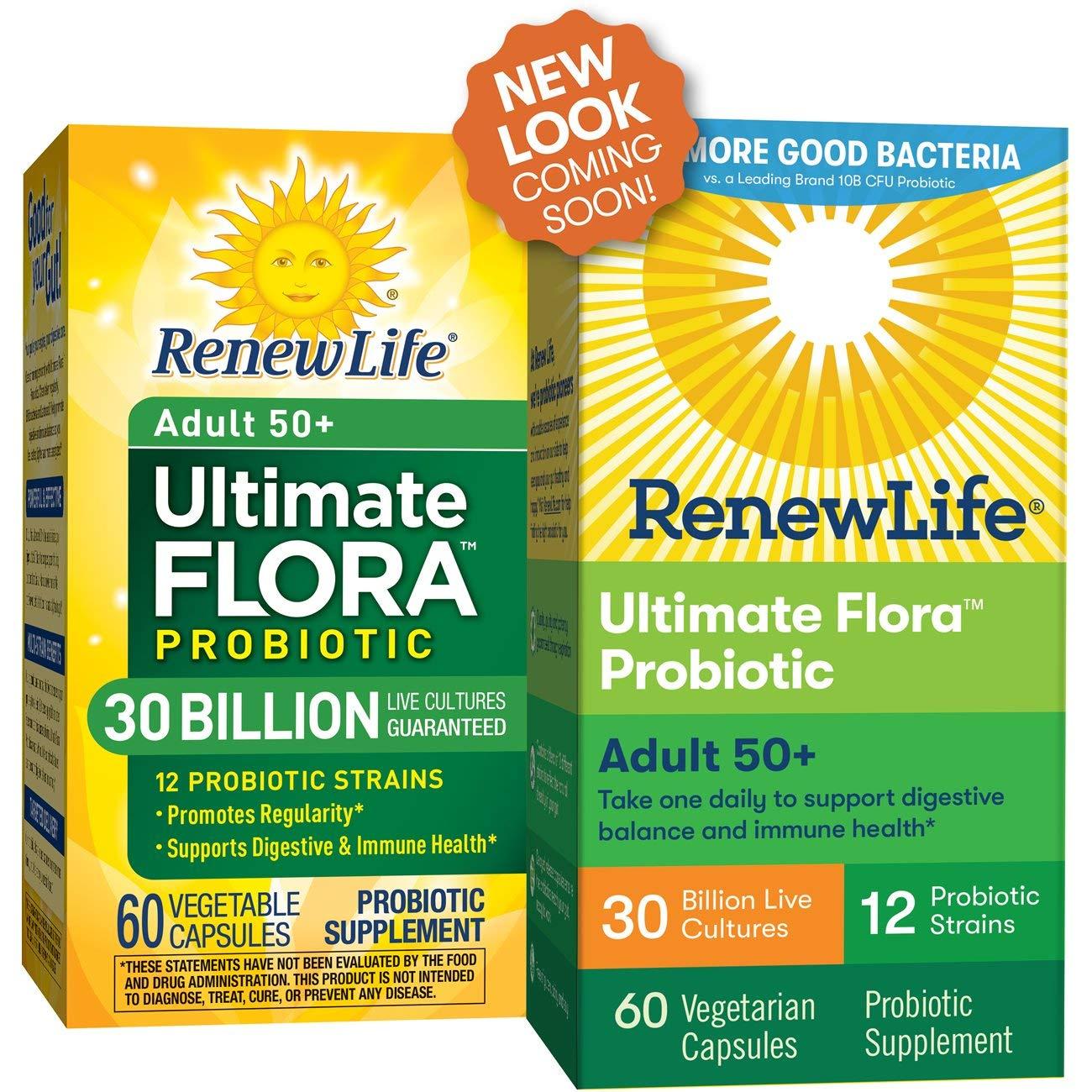 Renew Life Ultimate Flora Senior Formula Capsules 60