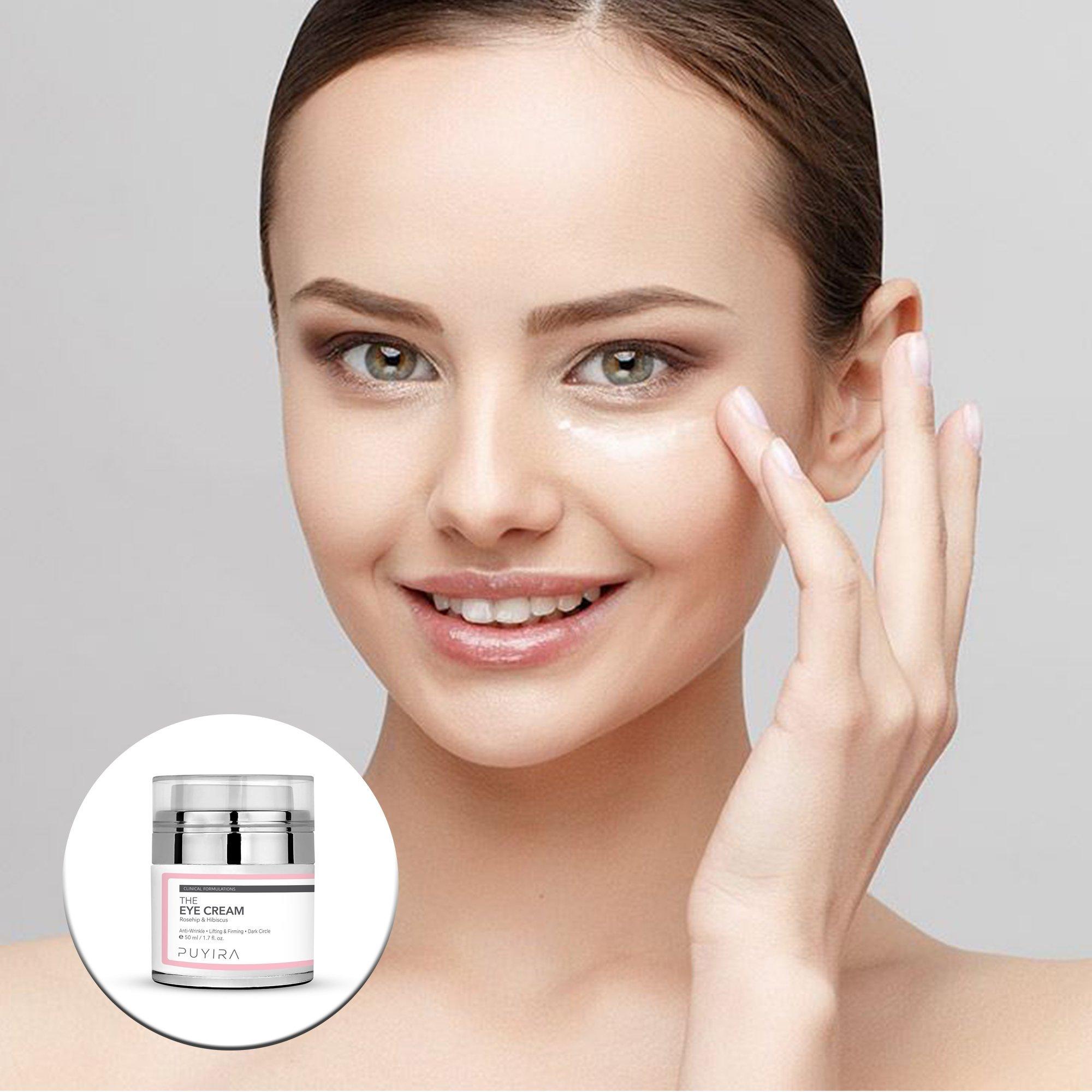 PUYIRA Rosehip Eye Cream Moisturizer , 1.7 fl.oz - Reducing Puffiness and Bags, Erasing Fine Lines and Wrinkles, Brightening Dark Circles by PUYIRA (Image #9)
