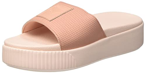 fcabc7f87925 Women s Platform Slide WNS Ep Peach Beige-Pearl Sneakers-6 UK India ...