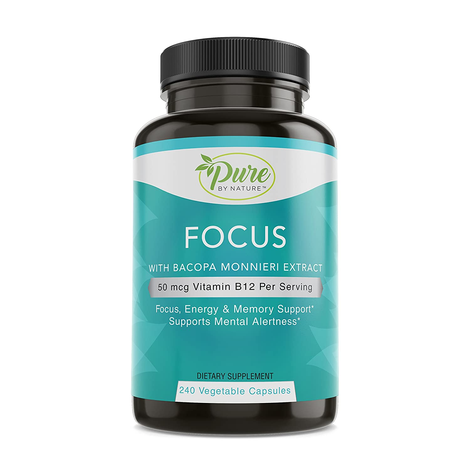 Pure By Nature Alert-Focus and Brain Clarity, 240 Count