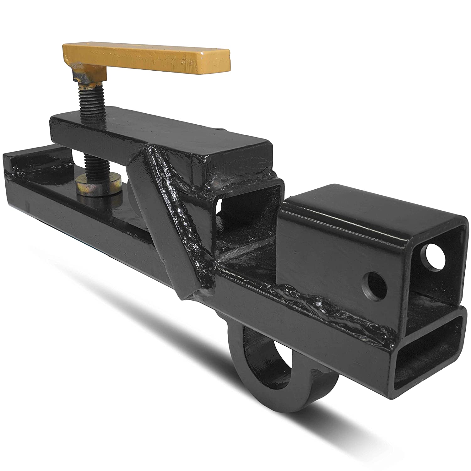 Titan Attachments Clamp On Tractor Bucket Hitch Receiver Skid Steer Bobcat lift ring BH-WH