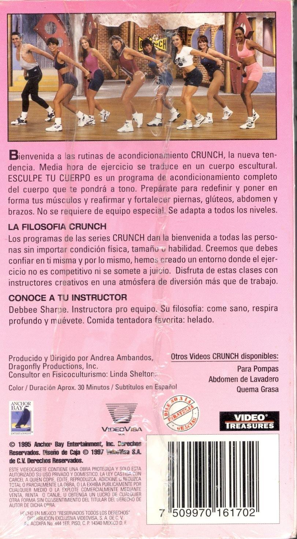 Amazon.com: Crunch - Esculpe Tu Cuerpo: Debbee Sharpe ...