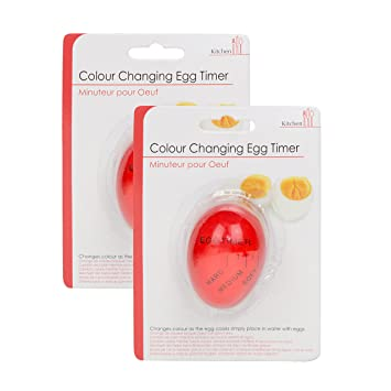 MINUTER POUR COLOUR CHANGING EGG TIMER KITCHEN