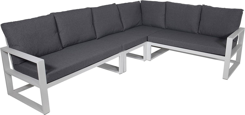 Alu Lounge-Eckbank Pina Colada