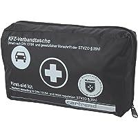 Cartrend 7730043 Kit de primeros auxilios, negro, DIN