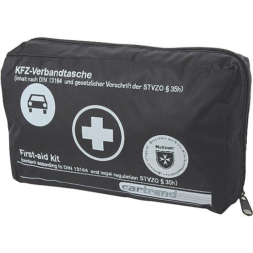 351 opinioni per Cartrend 7730043 kit di primo soccorso nero, DIN 13164, con misure di emergenza