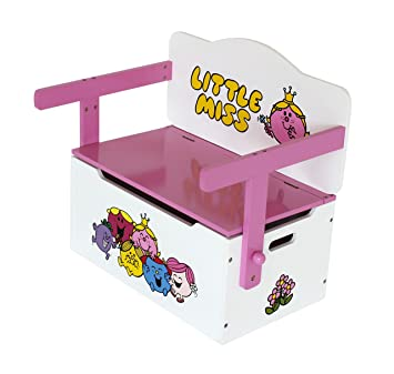 Brilliant Little Miss Childrens Kids 3In1 Wooden Convertible Toy Box Bench Table Chair By Kiddi Style Ocoug Best Dining Table And Chair Ideas Images Ocougorg
