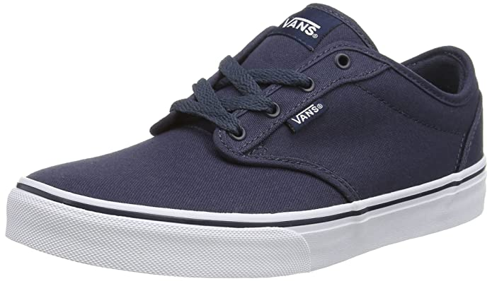 Vans Atwood Unisex-Kinder Sneakers Blau (Canvas Navy)