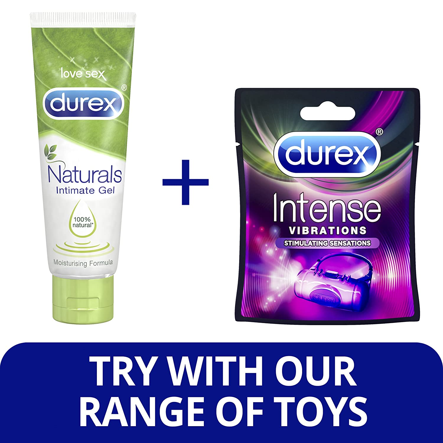Durex Naturals Intimate Lubricant Gel 100 Ml Health Play Lube Personal Care