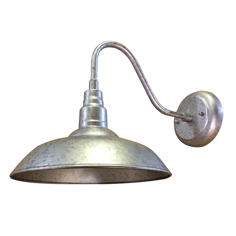 Y-Decor EL0523S9 Y-Décor Lora 1 Outdoor Wall Lighting, Silver