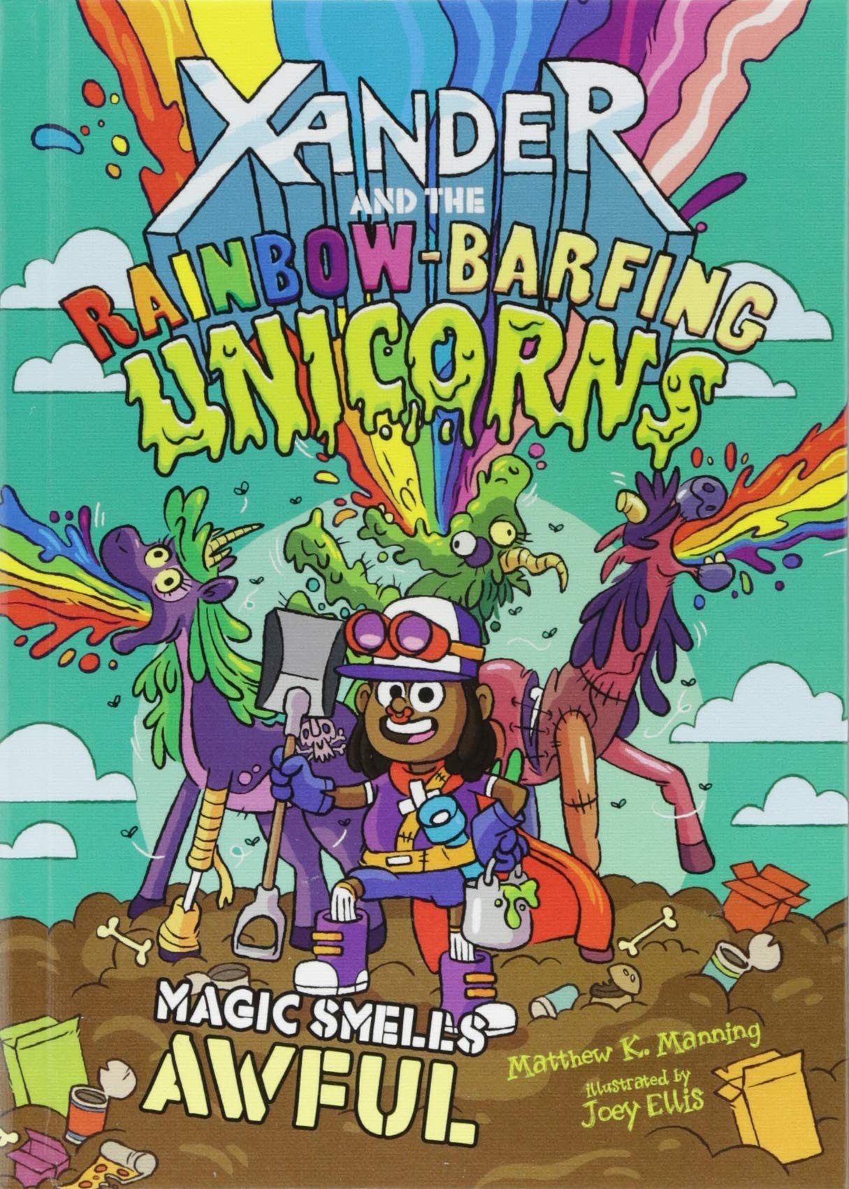 Magic Smells Awful (Xander and the Rainbow-Barfing Unicorns) 3