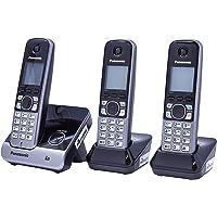 Telefone sem Fio DECT6.0, Panasonic TG6713, Preta