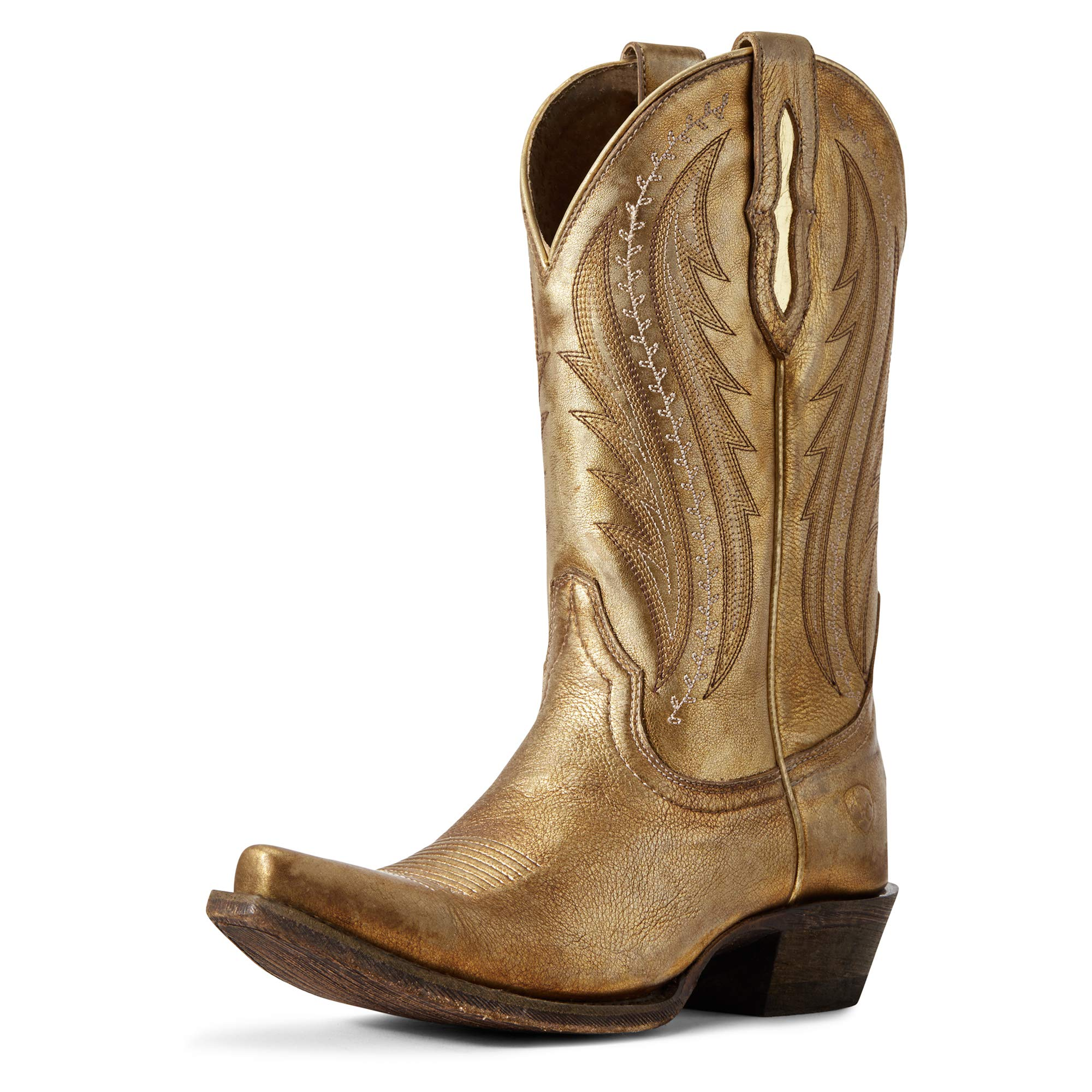 ARIAT Women's Tailgate Western Boot Distressed Gold Size 9.5 B/Medium Us by ARIAT