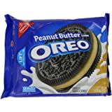 Oreo Peanut Butter Creme Oreo Cookie, 15.25-Ounce (Pack of 4)