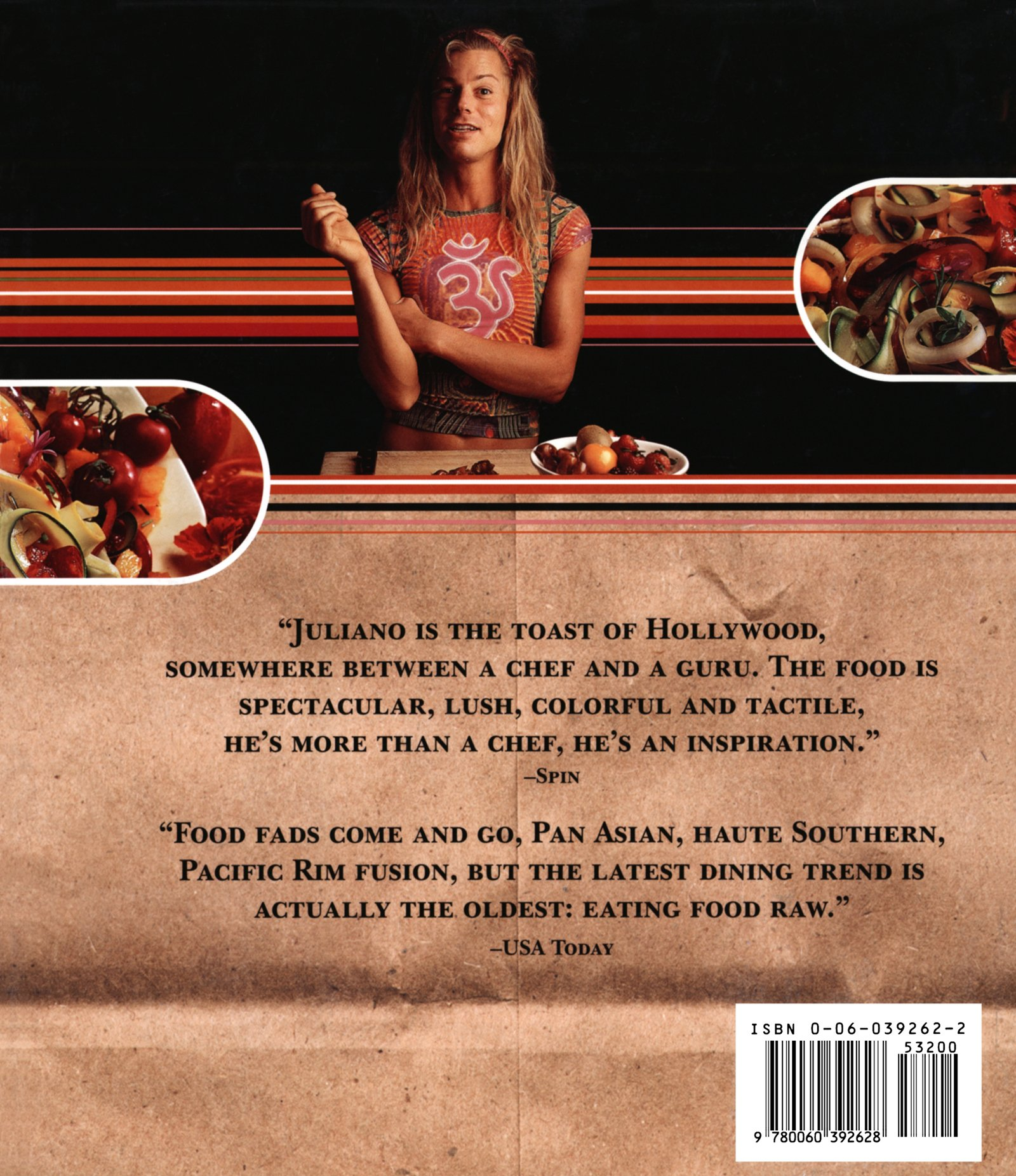 Raw the uncook book new vegetarian food for life juliano brotman raw the uncook book new vegetarian food for life juliano brotman erika lenkert 9780060392628 amazon books forumfinder Images
