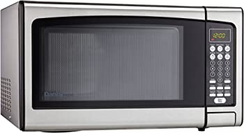 Danby Designer 1.1 cu.ft. Countertop Microwave (Stainless Steel)