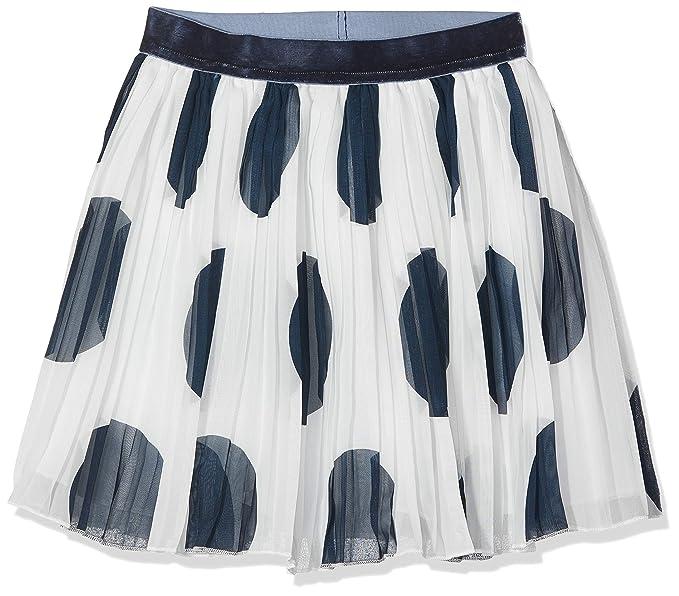NAME IT Nkftove Skirt Falda, Blanco, 158 (Talla del Fabricante ...