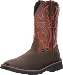 Wolverine Mens Rancher WPF Soft Toe Wellington Work Boot