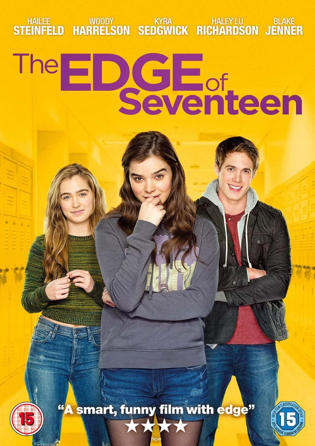 The Edge Of Seventeen [DVD]: Amazon.co.uk: Hailee Steinfeld, Woody  Harrelson, Woody Harrelson, Kelly Fremon Craig, Hailee Steinfeld, Woody  Harrelson: DVD & Blu-ray