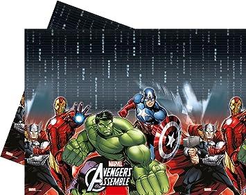 avengers mantel de plstico para fiestas y cumpleaos procos
